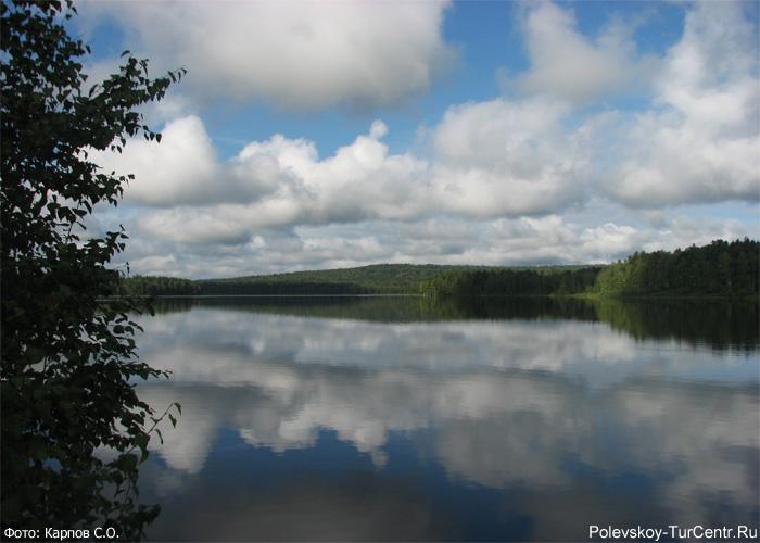 Глубочинский пруд. Фото Карпова С.О., 2012 г.
